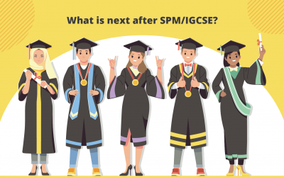 What is next after SPM/ IGCSE?